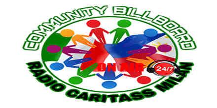 Community Billboard Radio Caritass Milan