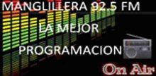 """<span lang =""""es"""">Manglillera 92.5 FM</span>"""