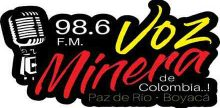 Voz Minera 98.6 Paz de Rio