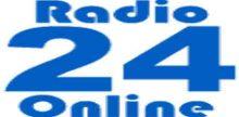 """<span lang =""""es"""">Radio 24 Online</span>"""