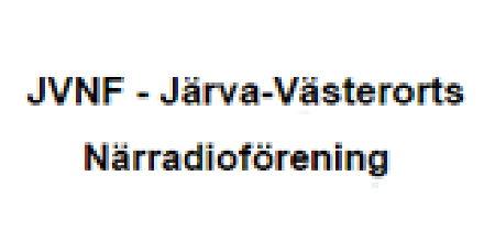 JVNF - Järva-Västerorts Närradioförening