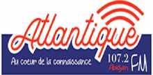 "<span lang =""fr"">Atlantique FM 107.2</span>"