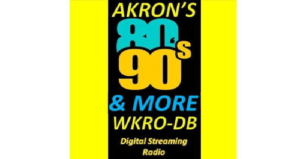 Akrons 80s & 90s Hits Station WKRO
