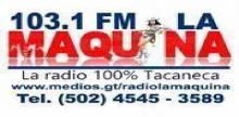 """<span lang =""""es"""">Radio La Maquina 103.1</span>"""