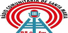 "<span lang =""pt"">RCSM – Rádio Comunitária de Santa Maria</span>"
