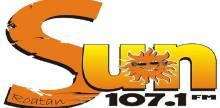 """<span lang =""""es"""">SUN 107.1 FM</span>"""